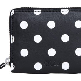 polka dot black