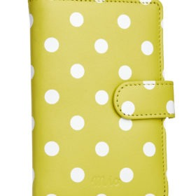 polka dot yellow